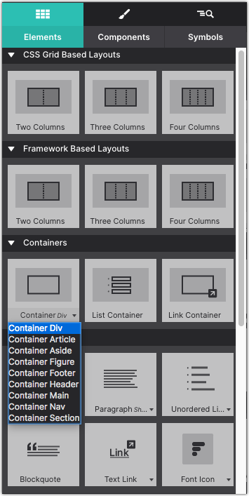 Add Container